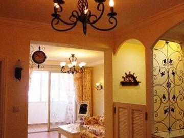 80平二手房装修小夫妻晒两室两厅大温馨56