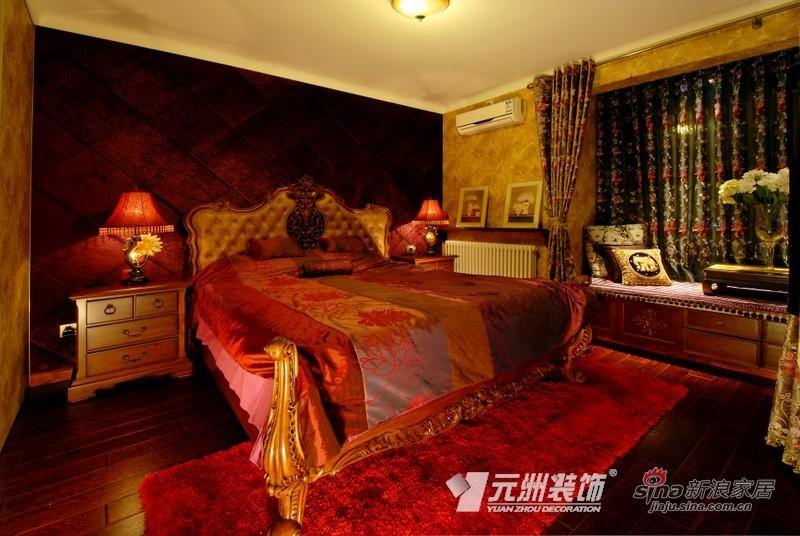 混搭 别墅 卧室图片来自用户1907655435在【多图】混搭风情别致美41的分享
