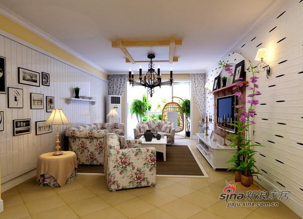 田园 四居 客厅图片来自用户2557006183在顺义新城田园之美29的分享