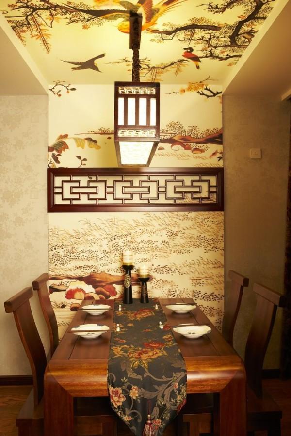 清河小营上林溪-140平米三居室新中式装