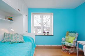 地中海 二居 卧室 小清新 80后图片来自佰辰生活装饰在8万演绎103平地中海风情22的分享