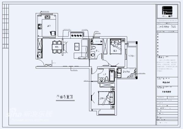 两房两厅两卫  大户型