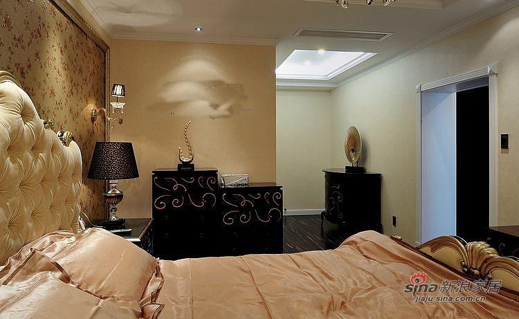 新古典 三居 卧室图片来自装修微日记在【高清】116平新古典魅惑大气3居97的分享