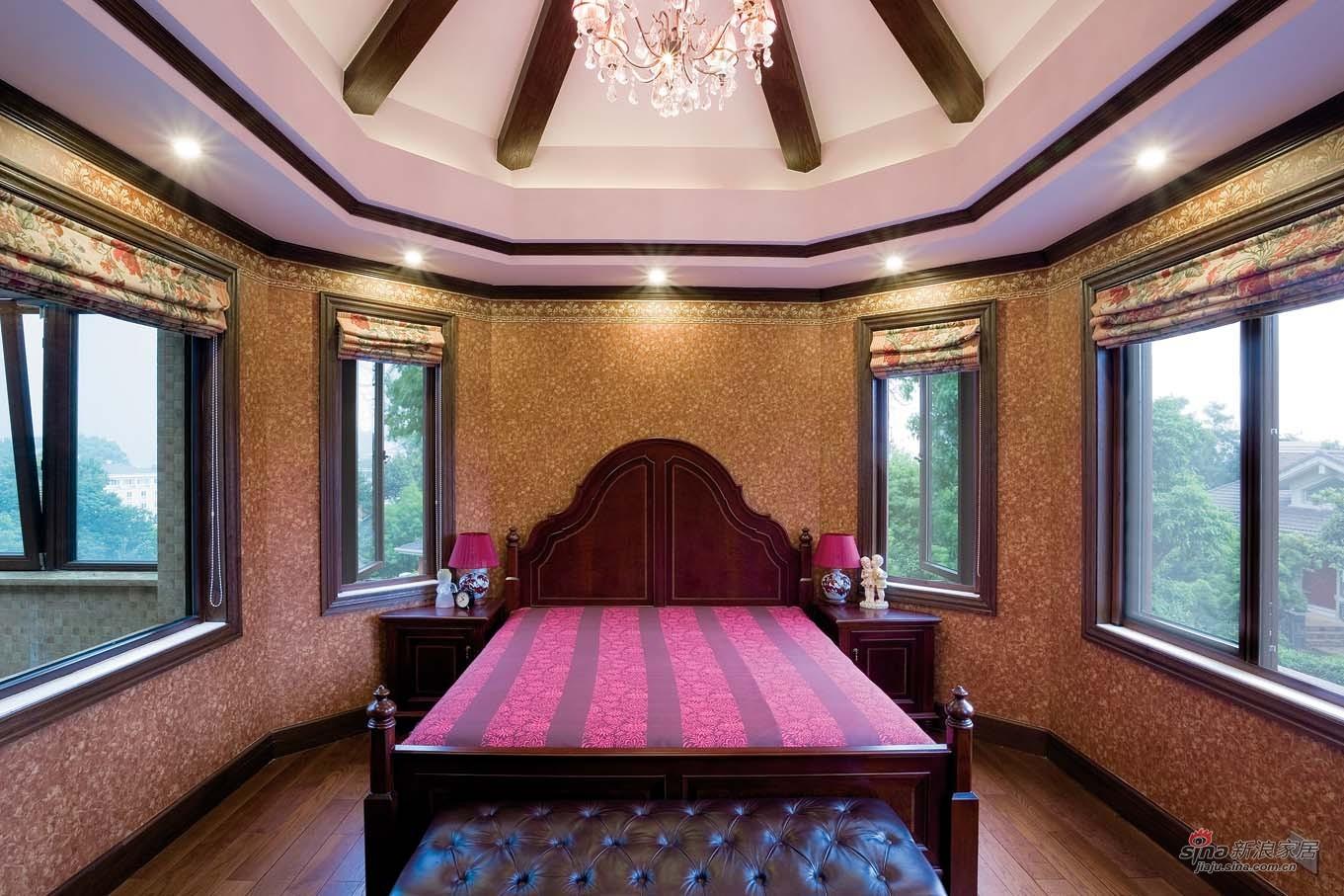美式 别墅 卧室图片来自用户1907685403在【高清】欧式风格奢华设计299平米大豪宅64的分享