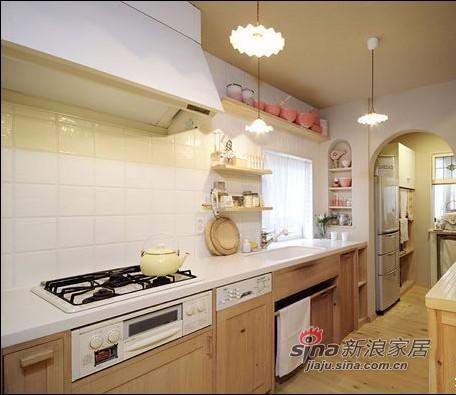 田园 二居 厨房图片来自用户2557006183在8万全包翻新72平二居室72的分享