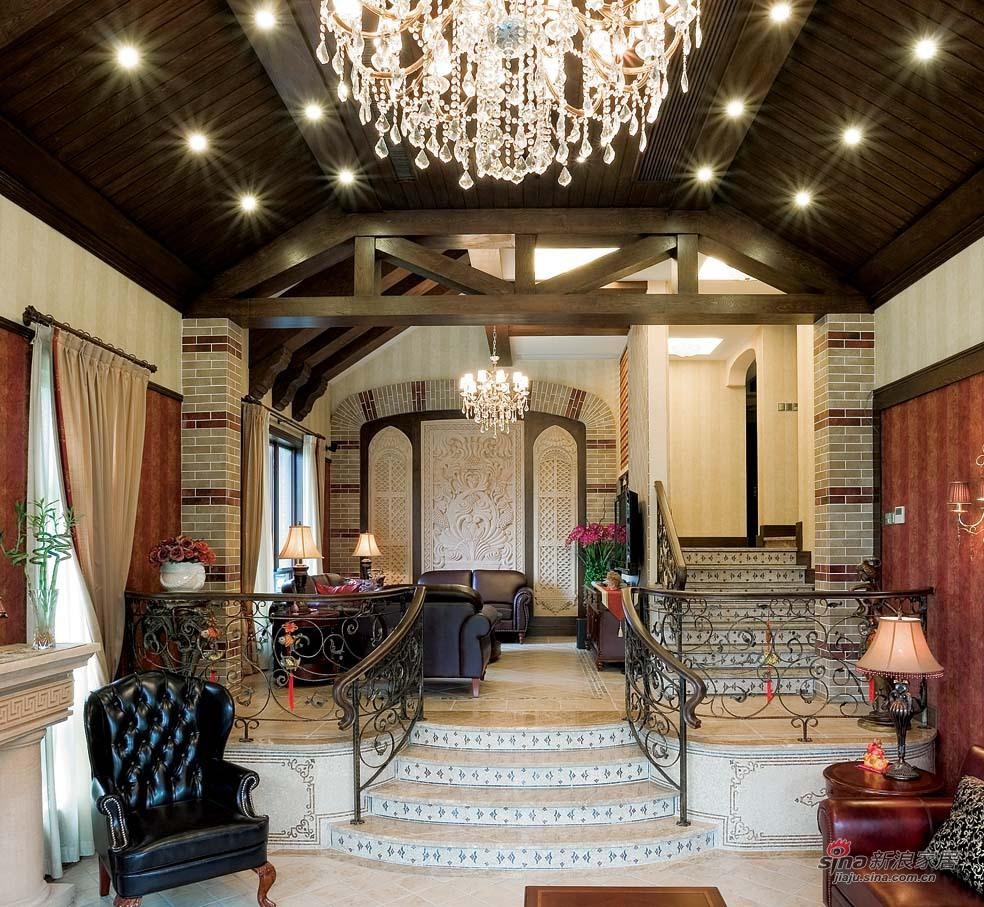 美式 别墅 客厅图片来自用户1907685403在【高清】欧式风格奢华设计299平米大豪宅64的分享