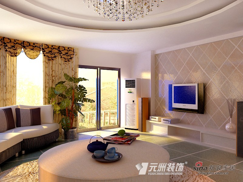 简约 二居 客厅图片来自用户2559456651在单身公寓86的分享