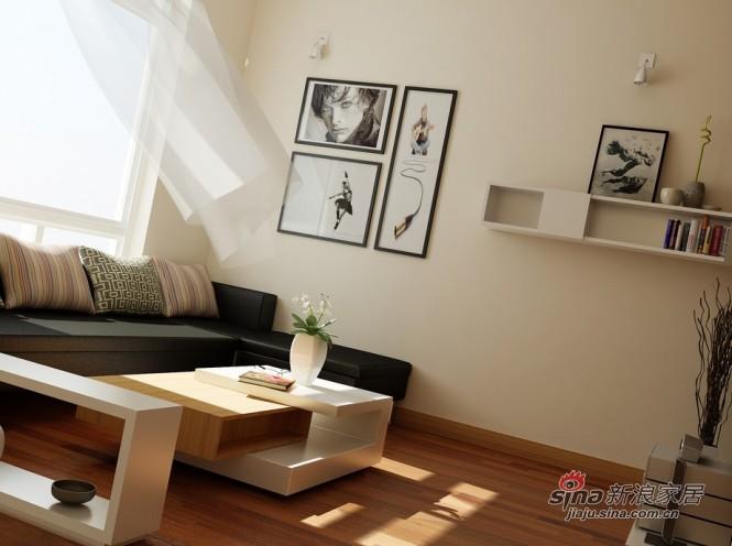 简约 三居 客厅图片来自用户2558728947在现代简约美家51的分享