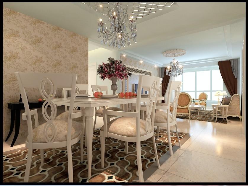 欧式 三居 餐厅图片来自用户2557013183在120平米大气奢华现代简欧89的分享