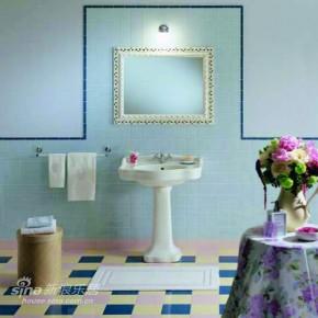地中海 四居 卫生间 白富美图片来自用户2757320995在欧式古典风格-马可波罗83的分享