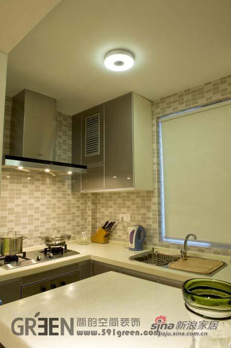 简约 二居 厨房图片来自阁韵空间装饰在悠悠新东方51的分享