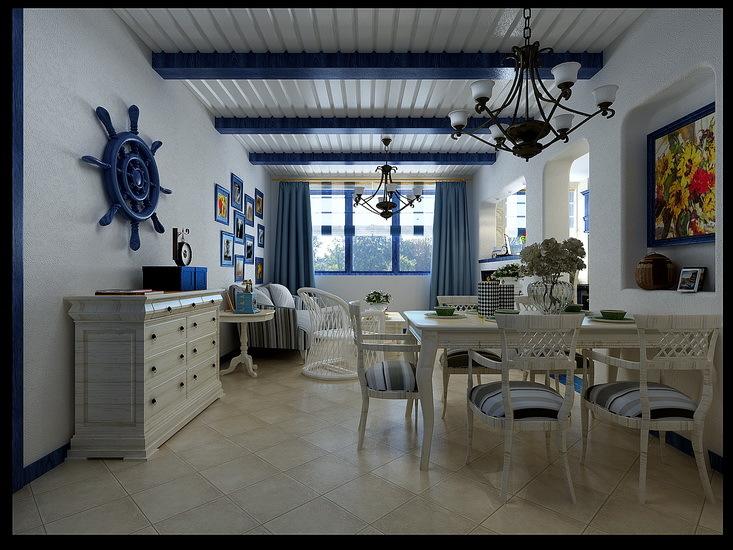 地中海 其他 餐厅图片来自用户2757320995在蓝白地中海美家59的分享