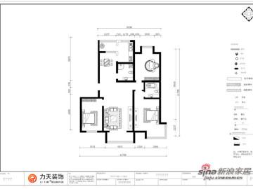 华城领秀-L1、L2户型3室2厅2卫1厨-现代简约52