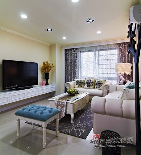 其他 其他 客厅图片来自用户2557963305在115平甜美优雅范新古典跃层家51的分享