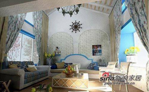 田园 loft 客厅图片来自用户2557006183在8万铸造现代田园风格loft59的分享