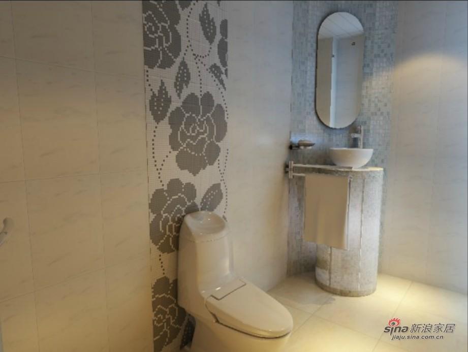 简约 三居 卫生间图片来自用户2737759857在6.3万搞定108平简约时尚潮流三居室57的分享