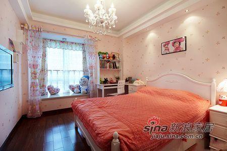 田园 三居 卧室图片来自用户2737946093在6万半包90平粉红田园三居39的分享