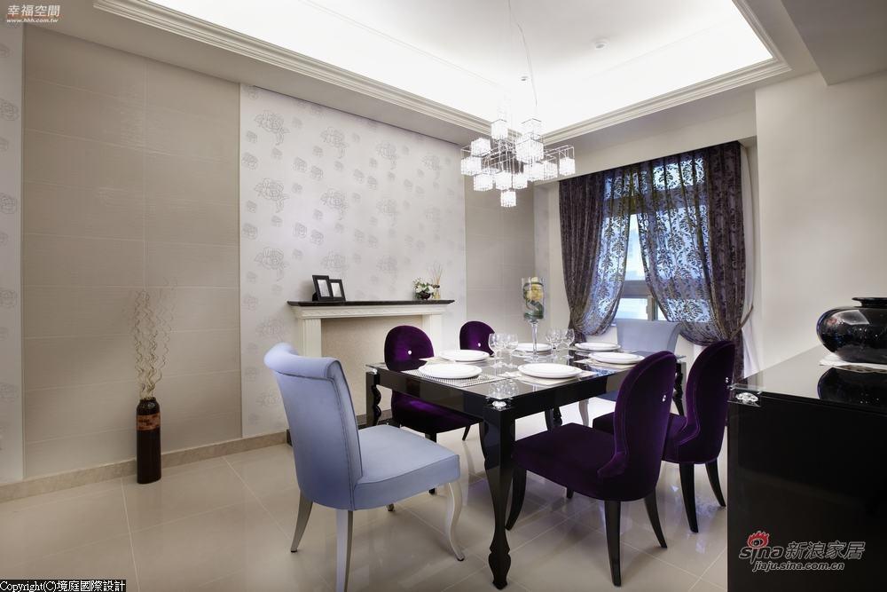 新古典 二居 餐厅图片来自幸福空间在【高清】165平气质自然 清新古典表情67的分享