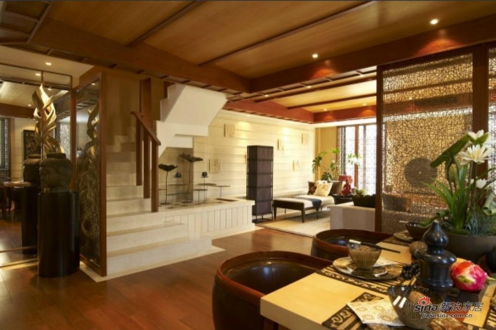 其他 别墅 餐厅图片来自用户2558746857在实景图泰式200平复式别墅83的分享