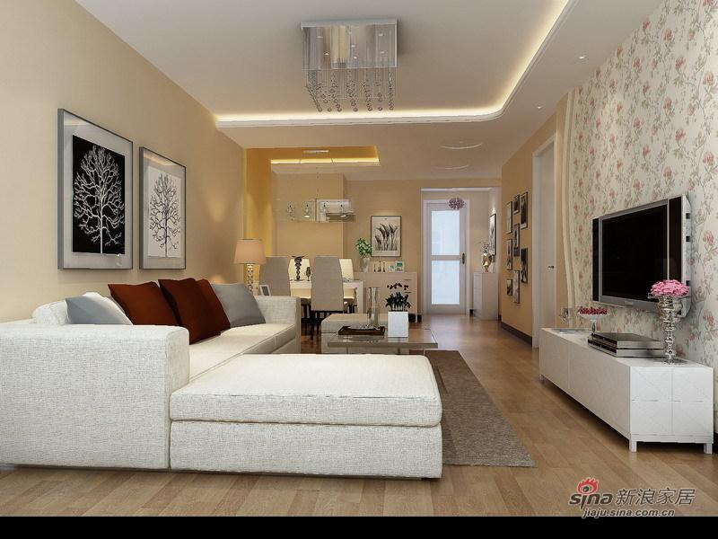 简约 二居 客厅图片来自用户2737735823在清江山水26的分享