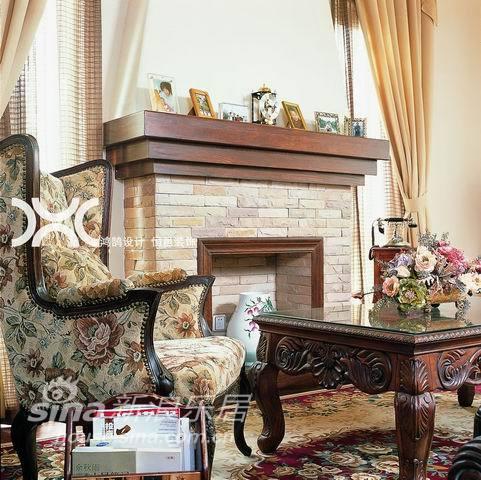 欧式 别墅 客厅图片来自用户2746889121在铭品装饰设计——欧式61的分享
