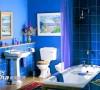 色彩斑斓的卫浴