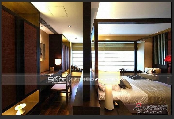 中式 别墅 卧室图片来自用户1907661335在精致沉稳的新中式风46的分享