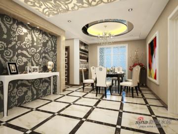 不一样的感觉打造橡树湾137平三居室装修设计46
