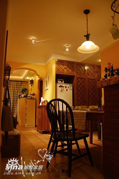 欧式 二居 餐厅图片来自用户2557013183在欧式装修样板间图片集锦52的分享