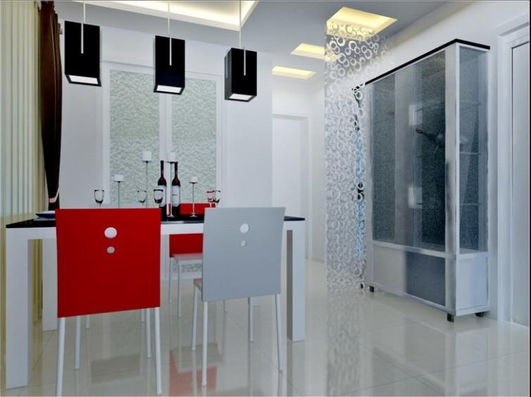 简约 二居 餐厅图片来自用户2737950087在现代简约风格强调室内空间宽敞、内外通透49的分享