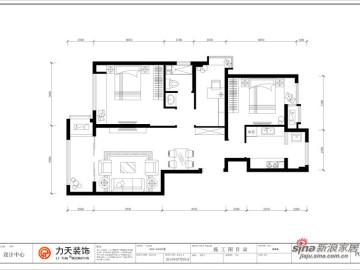 金融街中心-A5户型三室二厅一卫-东南亚风格22