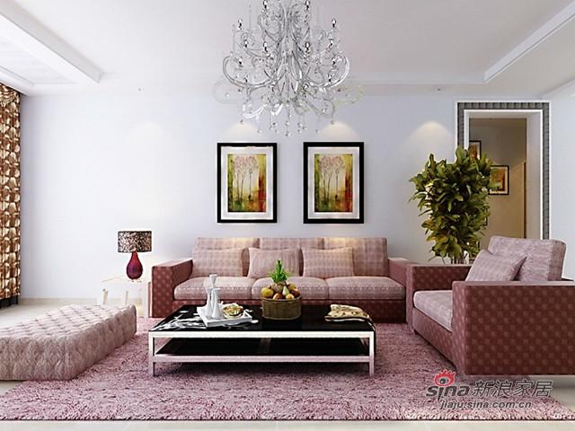 简约 三居 客厅图片来自用户2745807237在简约现代风38的分享