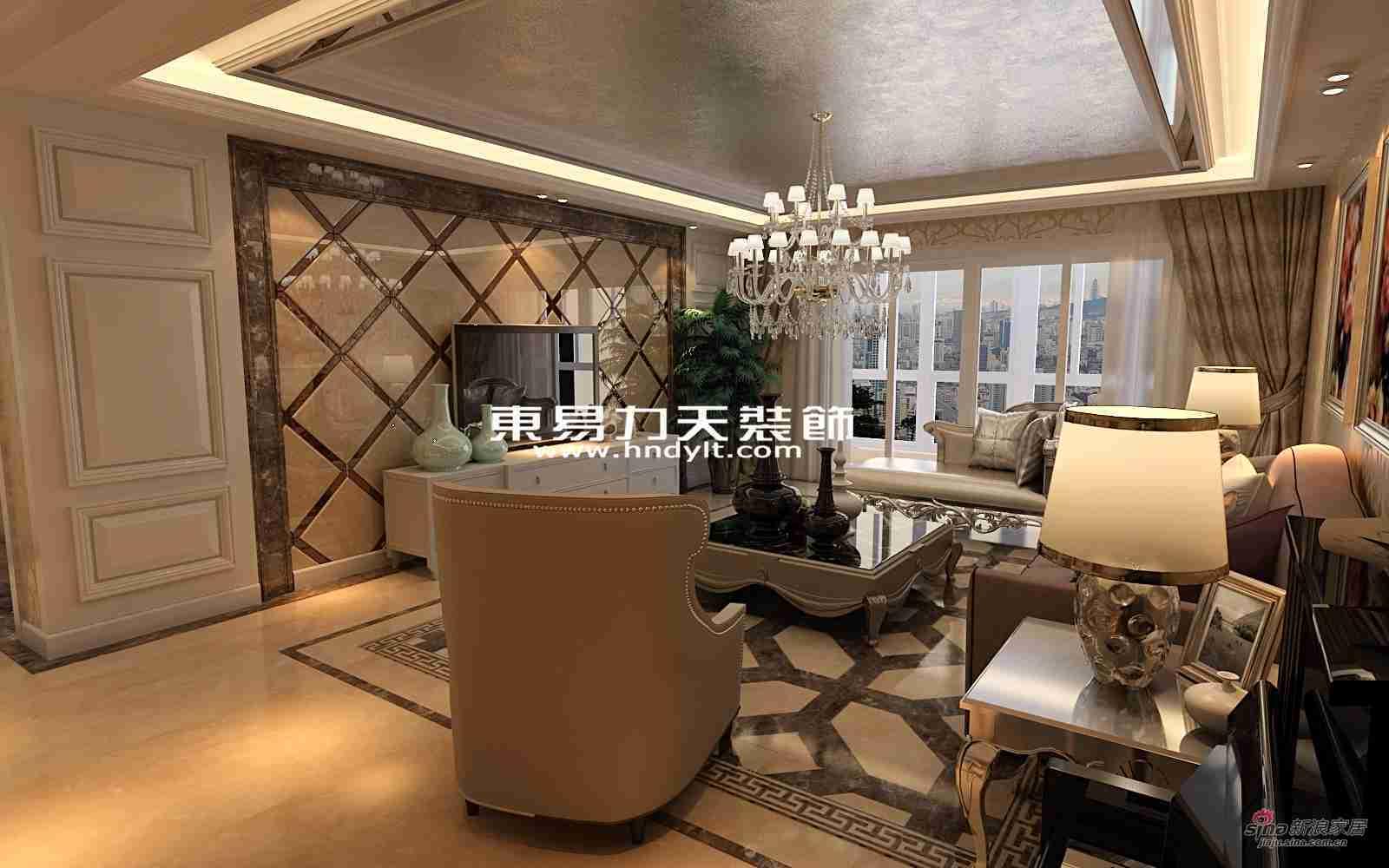 欧式 四居 客厅图片来自用户2757317061在低调精致奢华四居52的分享
