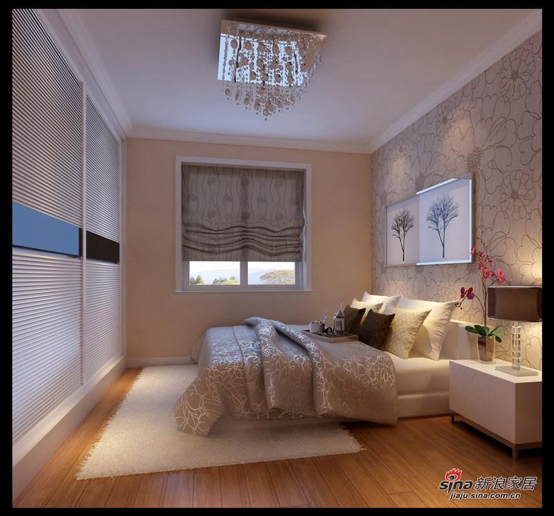简约 二居 卧室图片来自用户2737782783在82平80后的风尚57的分享