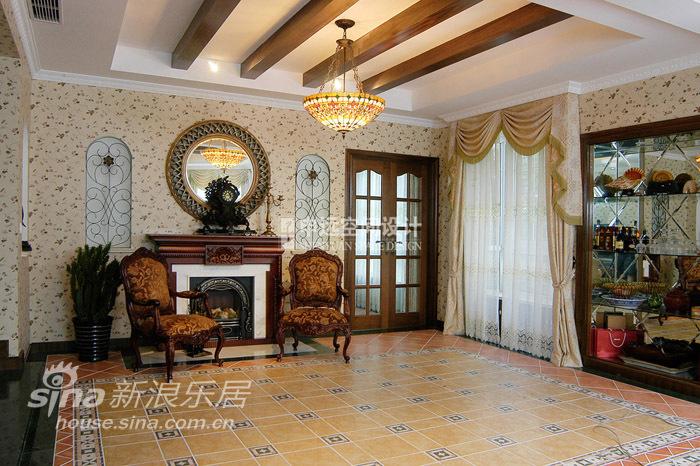 欧式 别墅 客厅图片来自用户2772873991在棕榈滩别墅76的分享