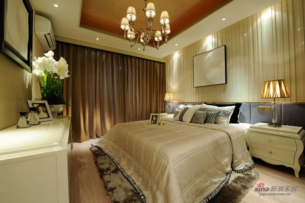 混搭 二居 卧室图片来自装修微日记在【高清】11万营造98平现代混搭两居60的分享