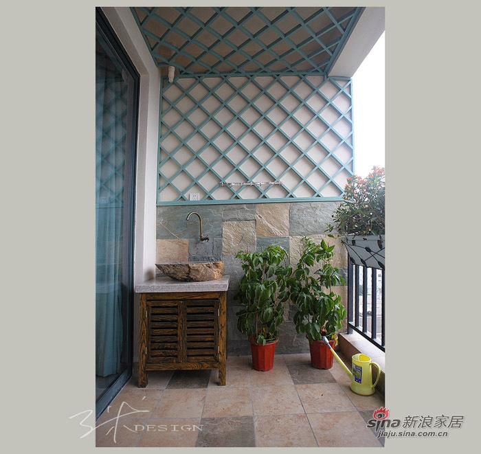 中式 三居 阳台图片来自用户1907659705在153平现代中式清新大三居55的分享
