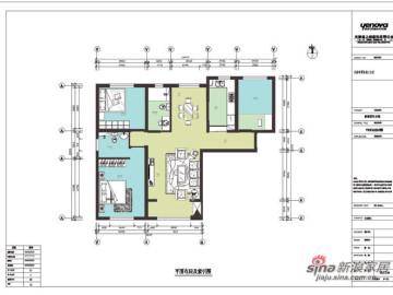 罗马假期-三居室经典设计41
