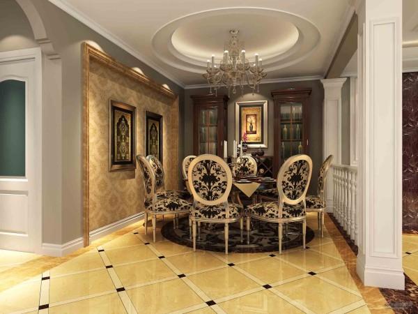 280平方米叠层上欧式风格装修案例