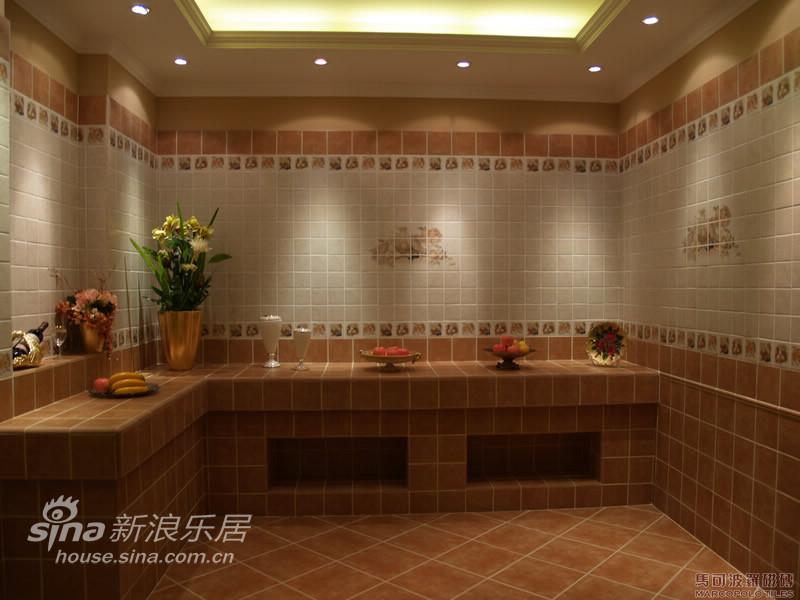 地中海 跃层 厨房图片来自用户2756243717在欧式复古风格-马可波罗36的分享