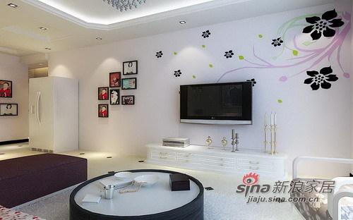 简约 三居 客厅图片来自用户2738829145在温馨简约的150平幸福港湾86的分享