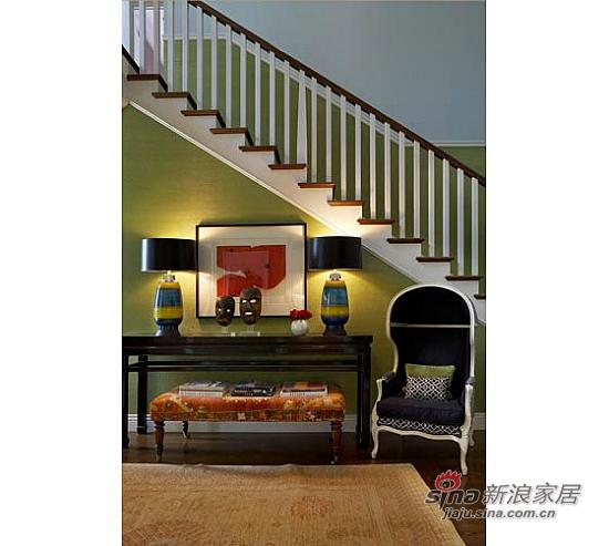 美式 复式 楼梯图片来自用户1907686233在【多图】复式美式乡村风格29的分享
