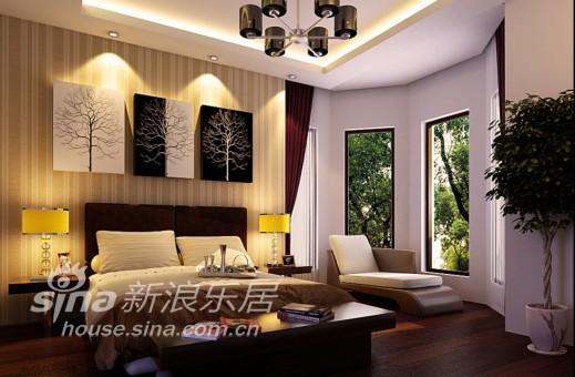 欧式 别墅 卧室图片来自用户2772856065在龙发装饰苏州公司湖滨一号案例28的分享