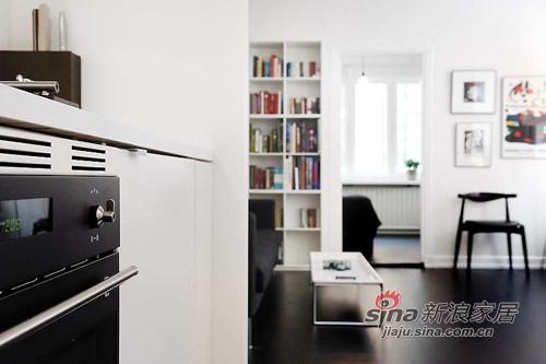 47平大空间感黑白酷款一房一厅