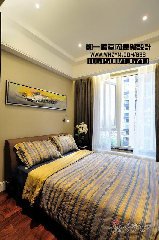 港式 四居 卧室图片来自郑一鸣室内建筑设计工作室在【高清】谦和180平御悦悠然 空间的无限惬意62的分享
