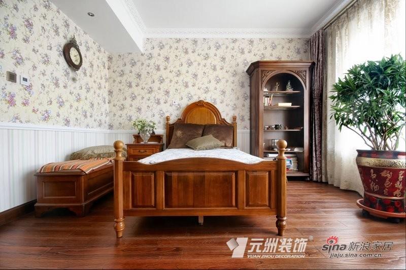 欧式 四居 卧室图片来自用户2746869241在欧式风格大平层设计86的分享