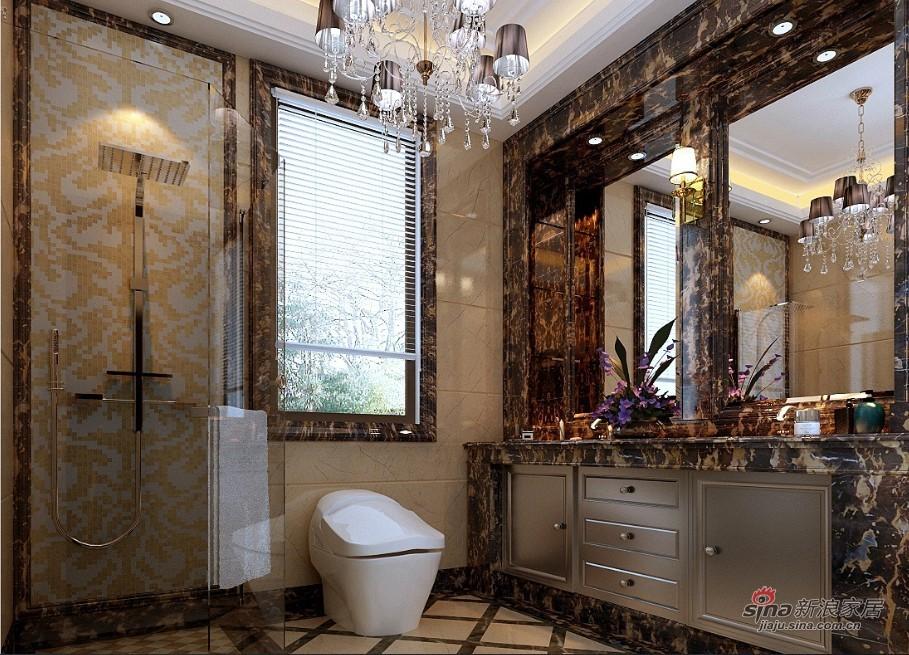 新古典 复式 卫生间图片来自用户1907701233在280平古典欧式别墅装修设计79的分享