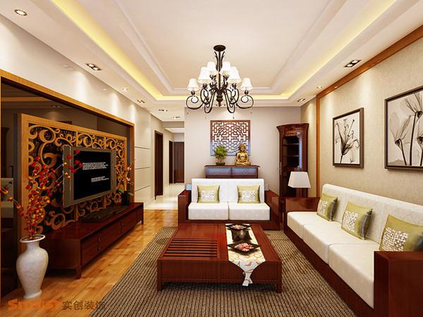 其他 三居 客厅图片来自用户2771736967在8万宁静打造舒适、暇意现代中式三居室12的分享