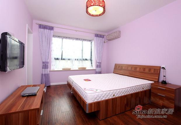 简约 一居 卧室图片来自用户2737786973在62平功能齐全的浪漫mini婚房85的分享