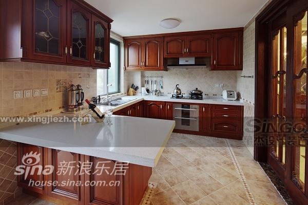 欧式 别墅 厨房图片来自用户2772873991在大户人家的欧式大宅范儿84的分享